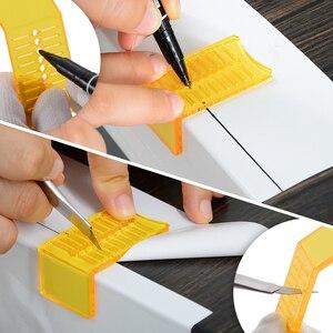 Image 3 - FOSHIO 탄소 섬유 포장 도구 키트 자동차 용품 비닐 필름 스티커 랩 창 색조 자석 스퀴지 PPF 스크레이퍼 커터