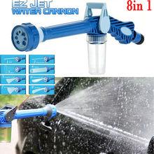 8 Nozzle Ez Jet Water Soap Cannon Dispenser Pump Spray Gun Car Washer US