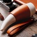 230ml Tasse Ziege Horn Kaffee Becher Edelstahl Liner Vakuum Isolierung Tasse weiß