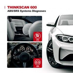 Image 2 - Thinkscan – outil de Diagnostic automobile Thinkscan 600, lecteur de Code OBD2, Scanner de voiture ABS/SRS, huile/TPMS/réinitialisation des freins, OBDII PK CR619 AL619