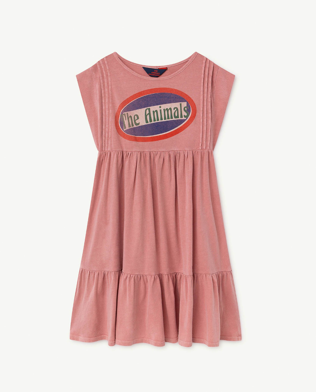 Kids Dresses 2019 TAO Brand New Autumn Winter Girls Lovely Letter Print Sleeveless Dress Baby Children Cotton Clothes