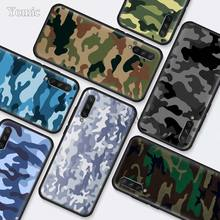 Camouflage Camo military Army Black Silicone Cases for Xiaom