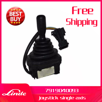 Linde forklift part 7919040093 joystick dual axis used on 115 1123 electric reach truck R10 R12 R14 R16 R18 R20 new spare parts