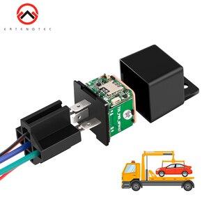 Vehicle Tracker Car MV730 Hidden Design Cut Off Fuel Shock Tow Alert GPS Moto ACC Detection Relay Mini GPS Tracker Car Tracker(China)