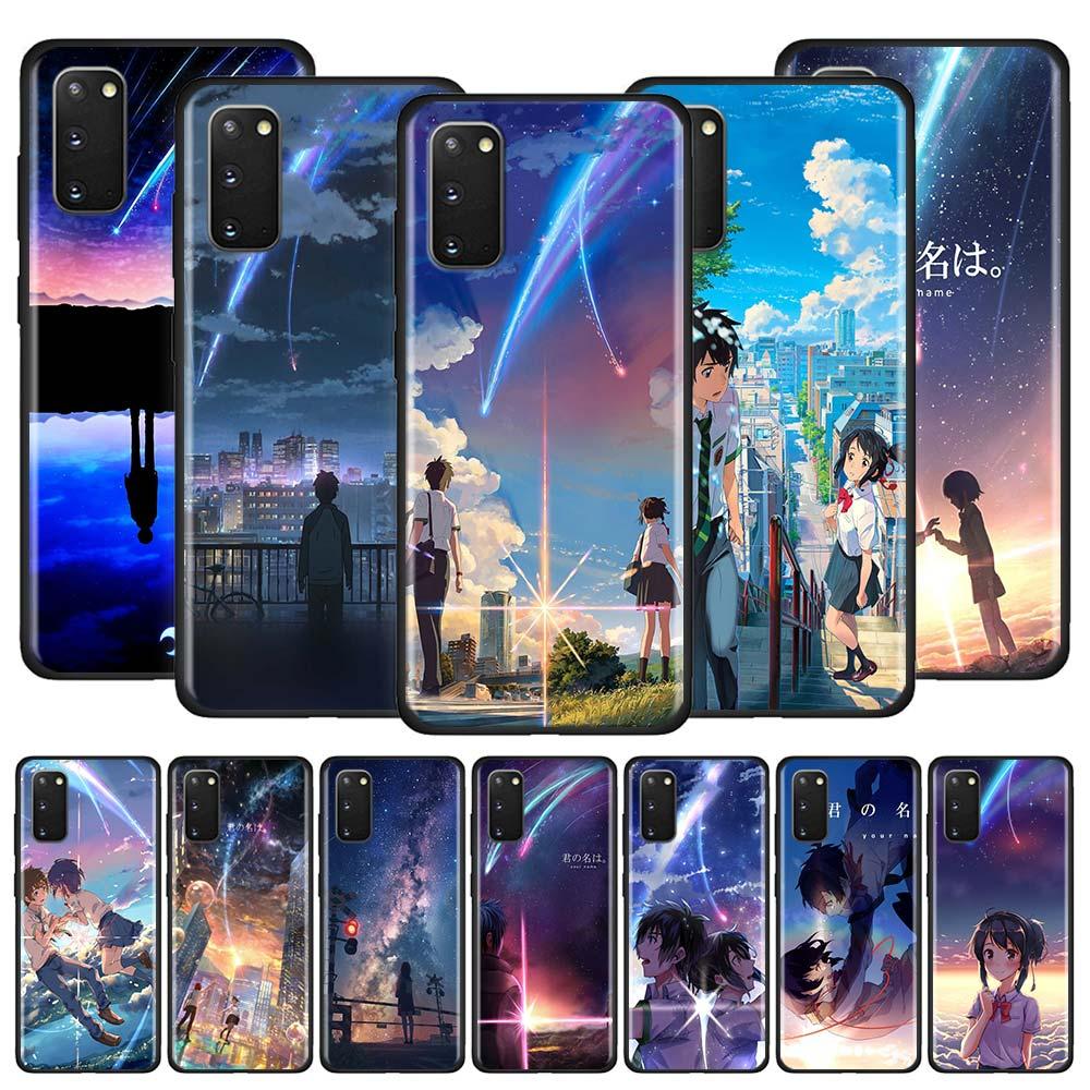 Twoje imię Kimi nie ma Na Wa etui do Samsung Galaxy A51 A71 M31 A41 A31 A11 A01 M51 M21 M11 M40 czarny miękki telefon okładka Fundas