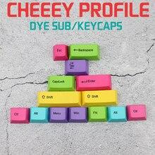 лучшая цена IDOBAO Teclado Mecanico Cherry Mx Red Highly Color Pbt Keycap 14 Key Dye Sub Top Printing Mechanical Keybord Gaming Rgb Keyboard