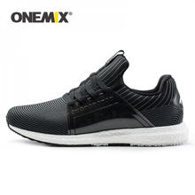 Onemix running shoes for men breathable mesh women sports sneakers