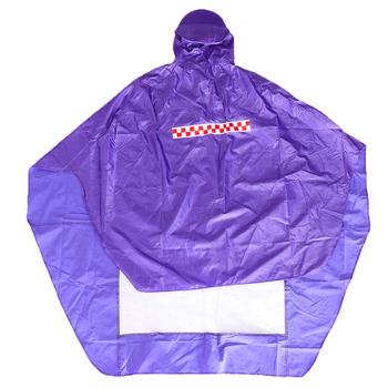 Jazda na rowerze rower rower płaszcz przeciwdeszczowy peleryna Poncho tkanina przeciwdeszczowa fioletowa tkanina Oxford tanie i dobre opinie perfeclan Oxford cloth