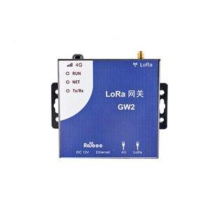 GW2-LoRa transparente transmissão gateway sx1301 multi-canal porta de rede porta serial indústria sem fio