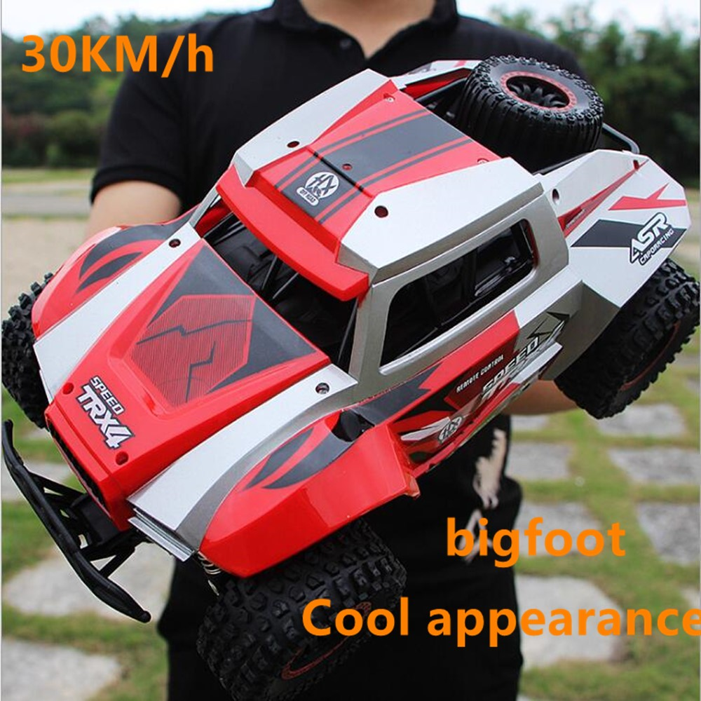 1:12 RC car 4WD 4x4 2.4G Bigfoot Remote control Buggy Off-Road Vehicle climbing racing Trucks Adult child kids toy Gift jeeps image