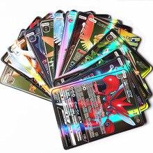 300 шт GX 60 100 шт Мега блестящие карты игра битва карт торговые карты игра детская игрушка «Покемон»