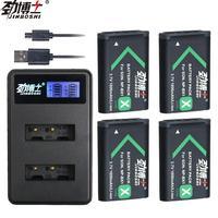 4 stücke NP-BX1 NPBX1 np bx1 batterie packs für Sony DSC-RX100 DSC-WX500 HX300 WX300 HDR AS100v AS200V AS15 AS30V AS300 m3 M2 HX60