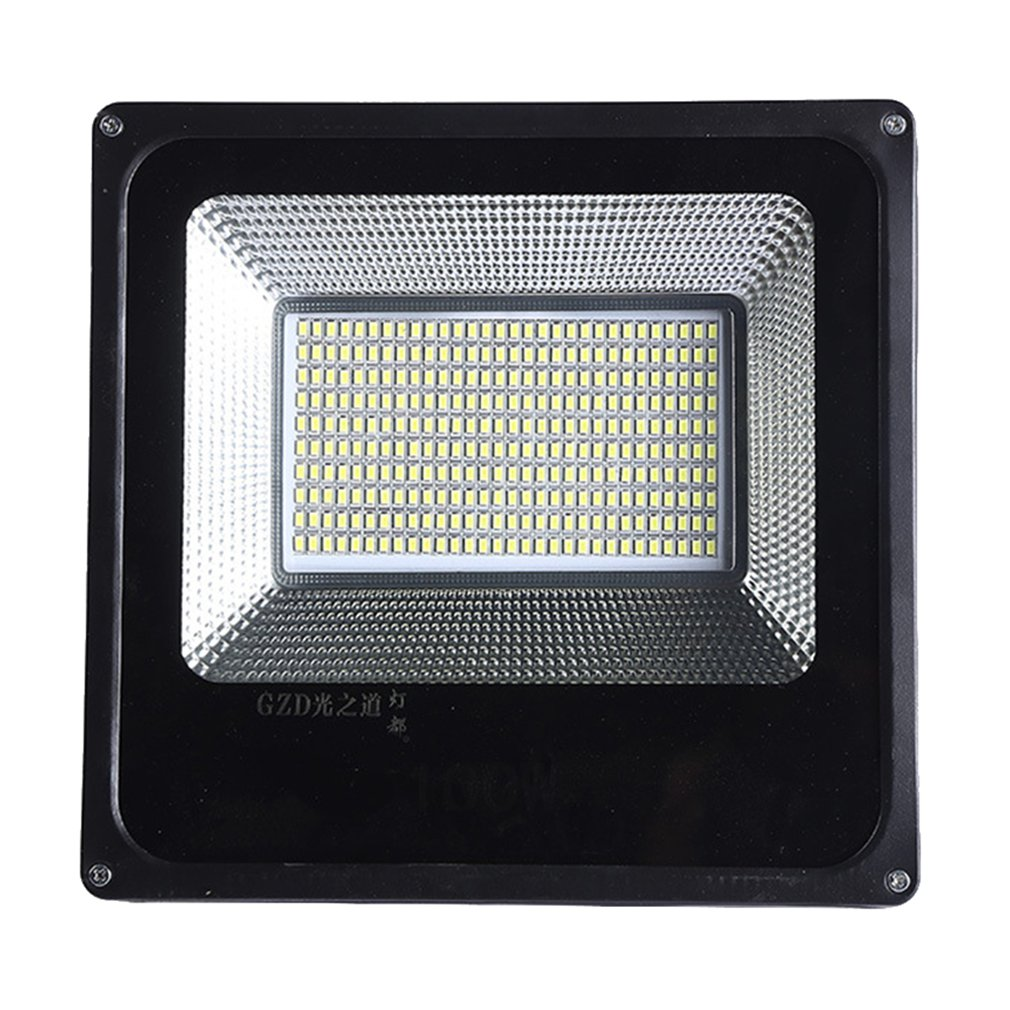Aluminum Alloy Garden Flood Light Industrial Lighting Power Lighting Flood Light 100W 220V Outdoor Waterproof Work Light