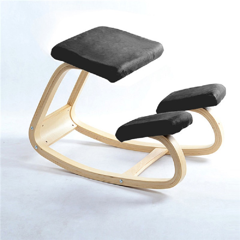 K-STAR Original Ergonomische Hinknien Stuhl Hocker Hause Büro Möbel Ergonomischen Schaukel Holz Kniend Computer Haltung Stuhl