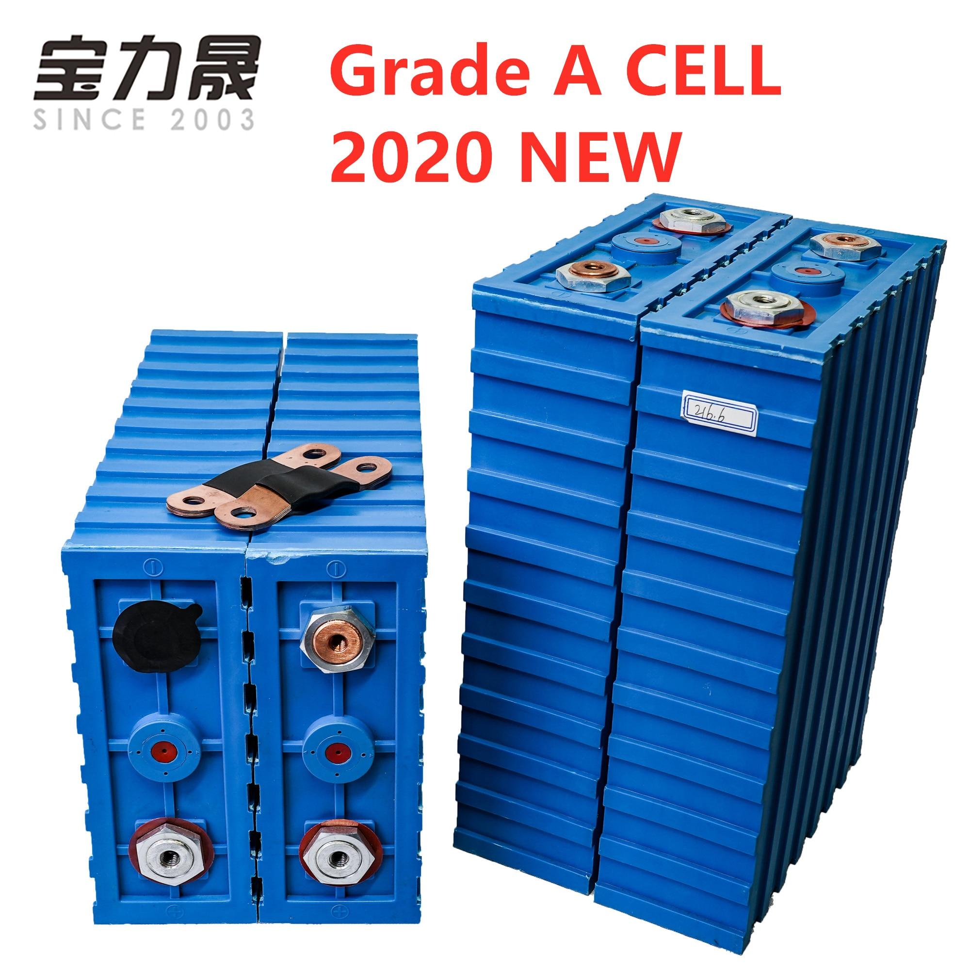 GRADE A LiFePO4 Batteries rechargeables 3.2V200ah cellule 2020 nouveau CALB SE200FI plastique 12v24V pour pack EV solaire US ue AU sans taxe