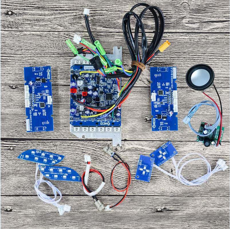 Оригинальный завод DIY 6,5/8,5/10 дюймов скутер материнская плата контроллер для самобалансирующийся умный скутер Ховерборд 36В