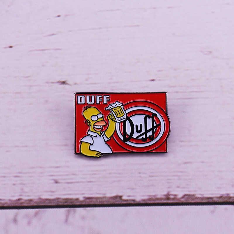 Homer Duff Beer Kekasih Bros Pop Kartun Perhiasan