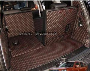Image 1 - 새로운! 무료 배송 2008 2014 KIA Mohave 7 인용 자동차 트렁크 매트 내마 모성 방수 카펫 2013 Mohave luggage mats