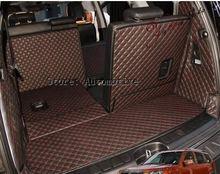 חדש! משלוח חינם 2008 2014 עבור KIA Mohave 7 מושבי רכב תא מטען מחצלות התנגדות ללבוש עמיד למים שטיחים 2013 Mohave מטען מחצלות