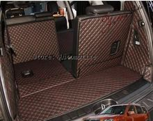 New! Free shipping 2008 2014 for KIA Mohave 7seats car trunk mats wear resisting waterproof carpets 2013 Mohave luggage mats