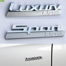 Auto Aufkleber Luxus Moderne Städtischen Sport Refit Auto styling für BMW M M2 M3 M4 M5 X6 X5M E36 E46 e60 E90 F10 F30 M3 M5 X1 X5 X6
