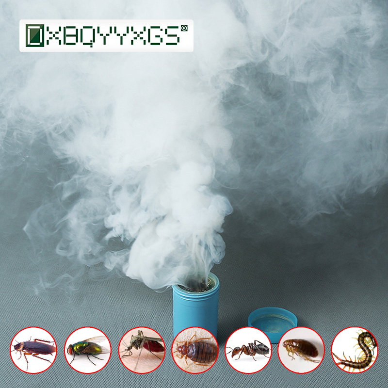 Hot 4PCS Smoke Insecticides Fast Comprehensive Poison Bomb For Cockroach Bait Magical Smog Fly Bed Bugs Mosquito Ant Killer