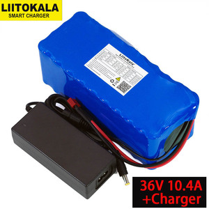 Image 2 - 36V 12Ah 10A 10.4ah 18650 Lithium Battery pack 12000mAh Motorcycle Electric Car Bicycle Scooter with BMS+ 42v 2A Charger