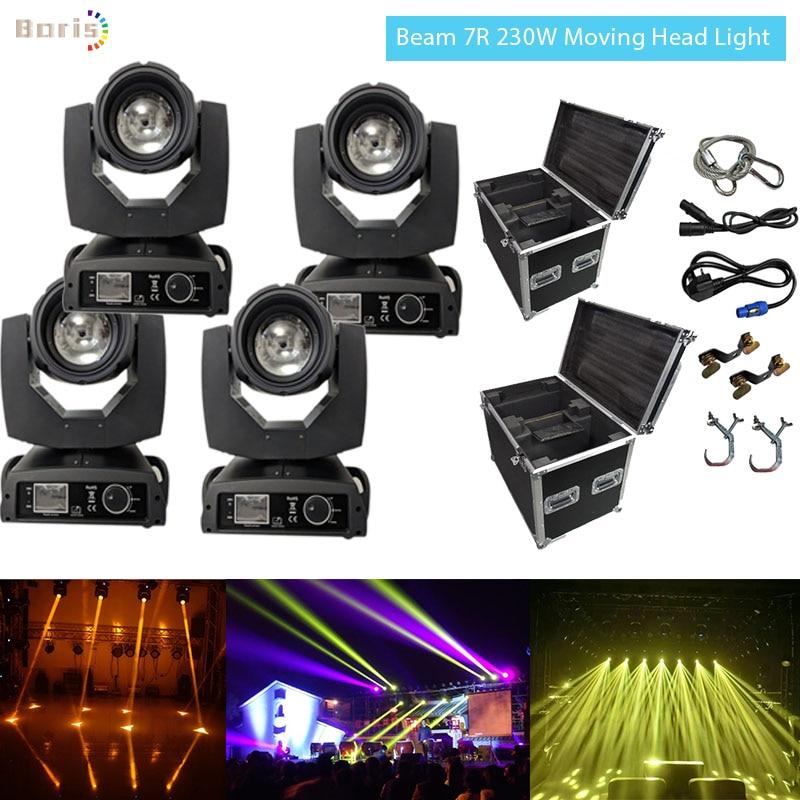 4 Beam 230 7r Moving Head Light ...