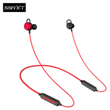 Simvict Bluetooth Headphone Wireless Headset 3D Stereo Earphone Handsfree Earbuds with Microphone for Sport Gaming bluetooth headphone wireless earphone sport handsfree earbuds 3d stereo gaming headset with mic charging box
