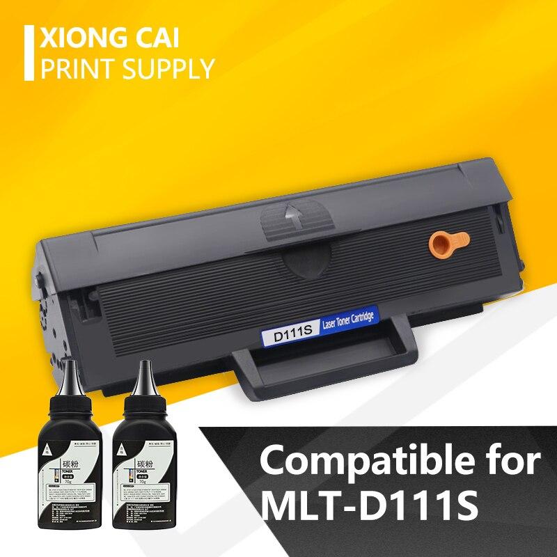 1pc Black Toner Cartridge MLT-D111S D111S 111s D111 Compatible For Samsung M2020 M2020W M2021 M2022  M2022W M2070 M2027W M2027F
