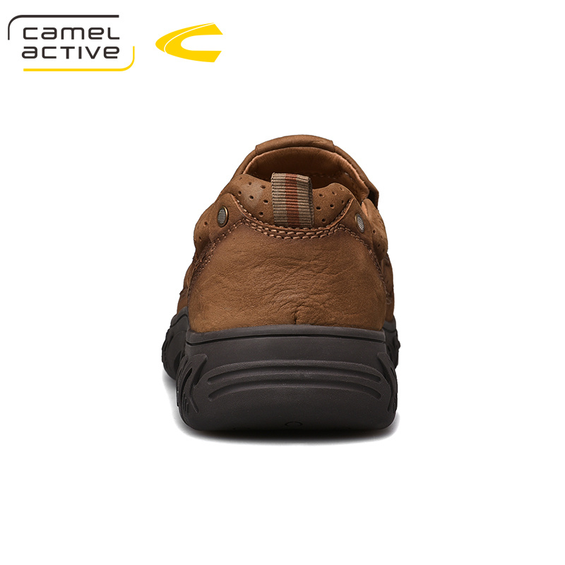 Image 2 - Camel Active New Genuine Leather Men Shoes England Trend Male  Footwear Mens Casual Shoes Outdoors Short Boots Man Work ShoesOxfords