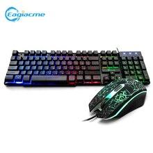 T5 Механическая игровая клавиатура мышь русская 2000 точек/дюйм