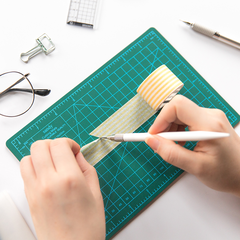 JIANWU Manual Model Cutting Pad DIY Multipurpose Engraving Edition Paper Cutting Rail Cutting Tool
