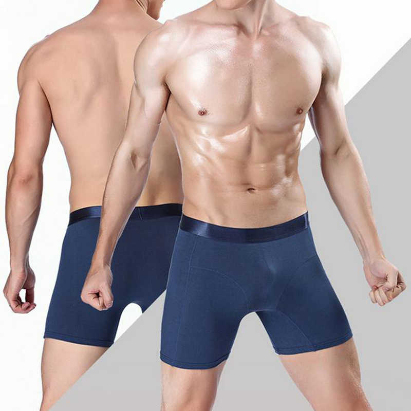 Puimentiua Ondergoed Voor Man Boxer Ondergoed Katoen 2020 Nieuwe Heren Boxers Onderbroeken Mannen Boxer Sexy Solid Ondergoed Slipje Mannen