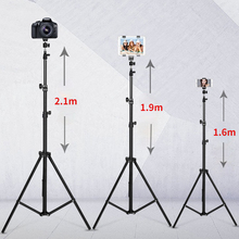Photographic Lighting Stand Ring Lamp Stand Adjustable Tripod Suit for Light Tripods Phone Mount with Ring Light Camera Stand