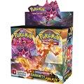 324 шт. новейшие карты Pokemon TCG: меч и щит темноты Ablaze Pokemon Booster Box Коллекционная игра-карточка для детей