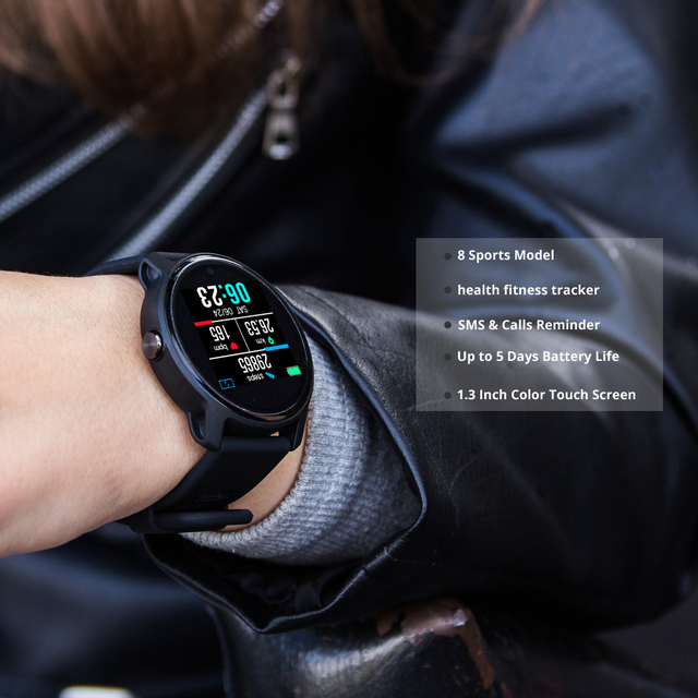 2019 New Men Smart Watch S08 Fitness Tracker Heart Rate Monitor Pedometer IP68 Waterproof Women Smartwatch For Android IOS Phone 1