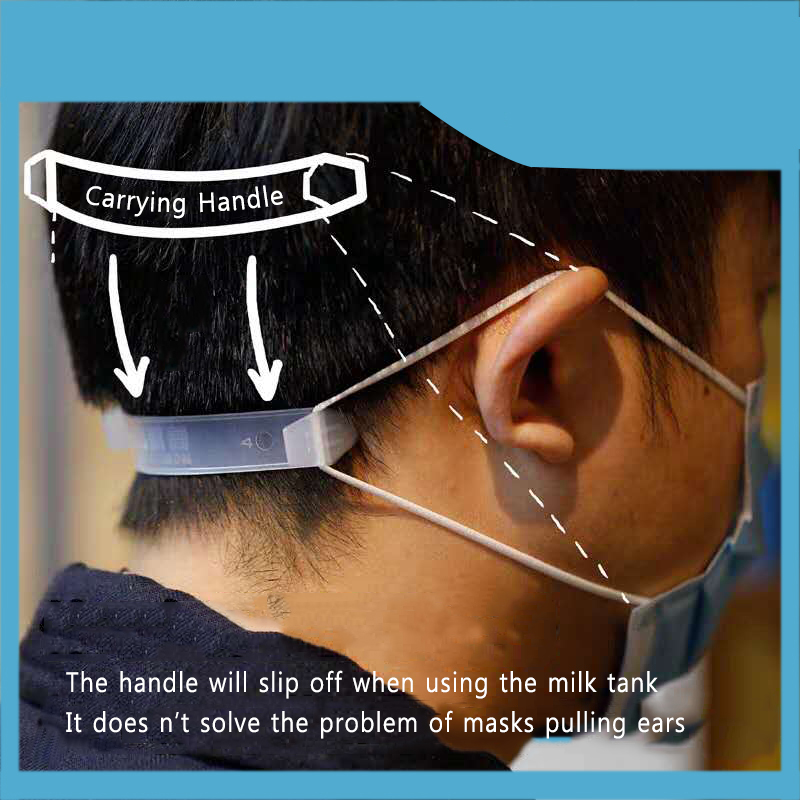 3pcs Masks Straps Extended Buckle Ear Protector For Filtration Cotton Mouth Anti-germs Mask Unti-Pain Adjustment Tools TSLM1