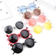 Baby Niedlichen Kaninchen Ohren Rahmen Sonnenbrille Marke Designer Kinder Hallo-Katze Sonnenbrille Schatten Brillen Brillen UV400 Für Jungen & mädchen