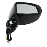 Black 5 Wire Right Passenger Side Rearview Wing Mirror Car Accessories Fit For Honda Fit Jazz GK5 2014 2016 2017 2018 2019