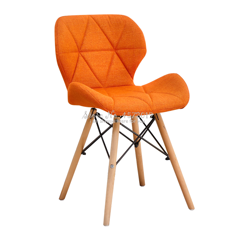 Nordic Dining Chair Modern Simple Home Net Red INS Stool Back Makeup Desk Chair Butterfly Comedores Modernos Muebles
