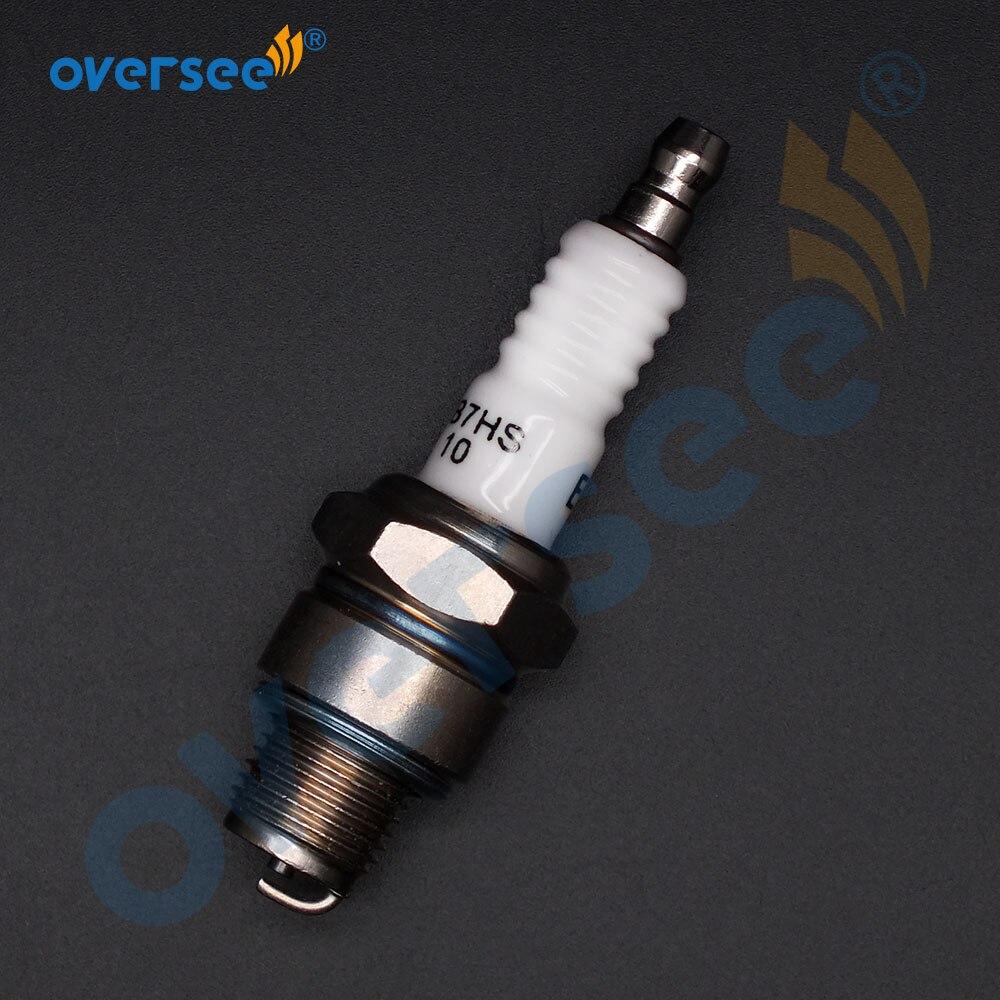EB7HS-10 Spark Plug For Yamaha Suzuki Tohatsu Outboard Motor 94702-00040