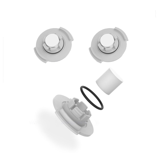 for Xiaomi Roborock Robot S50 S5 Vacuum Cleaner Spare Parts Kits Mop Cloths Wet Mopping filter Side Brush Roll Brush Water Tank 5