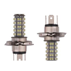 Image 2 - 1PCS H4 1210 68 SMD LED 7000K 272 Lumen לבן ערפל אור הנורה פנס רכב רכב LED ערפל מנורת DC 12V
