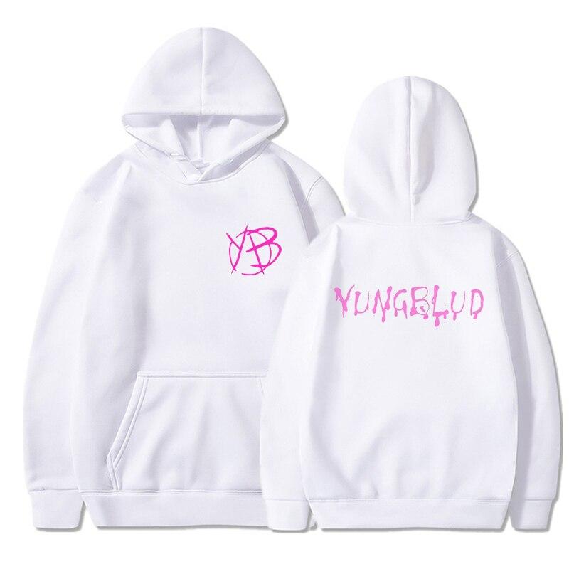 Yungblud Harajuku Style Hooded Top Men Women's Sweatshirt Long Sleeve Winter Top Teenagers Women's Hoodie Kawaii Streetwear Tops 8