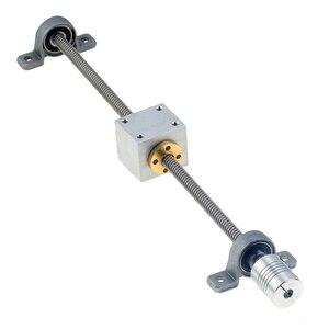 Image 3 - 3D Printer Geleiderail Sets T8 Lood Schroef Lengte 500Mm + Lineaire As 8*500Mm + KP08 SK8 SC8UU + Moer Behuizing + Koppeling + Stap Motor