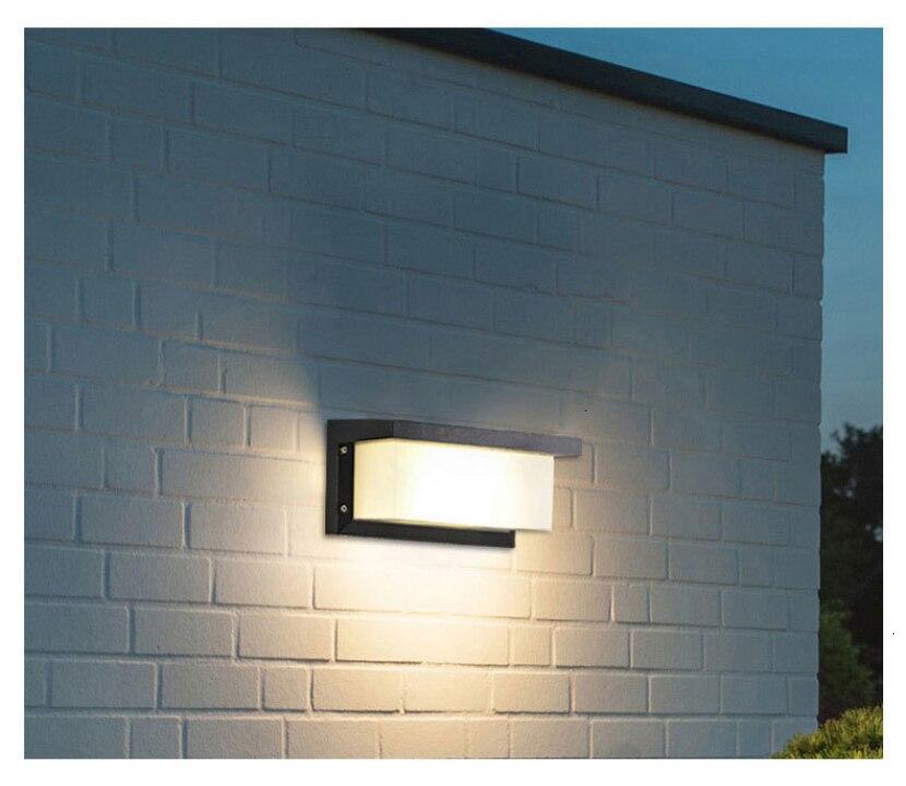 Led lâmpada de parede à prova dwaterproof