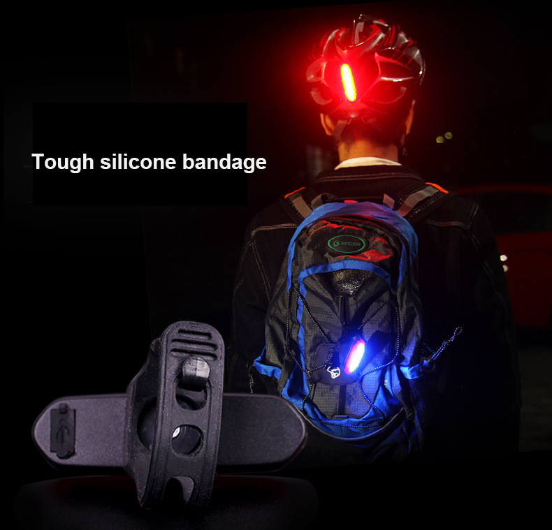 Image 5 - New Rechargeable LED USB Mountain Bike Tail Light Taillight Safety Warning Bicycle Rear Light Night riding COB warning lights-in Bicycle Light from Sports & Entertainment