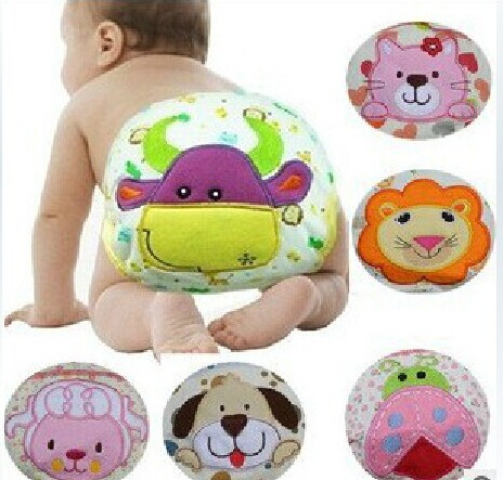 Baby Cartoon Nappy Diapers Training Pants Cotton Pants Briefs Newborn Underwear Cloth Diaper Cartoon Soft Cover Inserts
