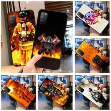 HUAGETOP пожарный герой Пожарный Роскошный чехол для телефона Huawei Honor 30 20 10 9 8 8x 8c v30 Lite view pro